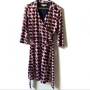 41 Hawthorn Belted Faux wrap dress